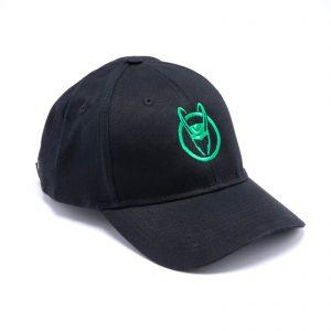 Marvel Loki Logo Baseball Cap – Black