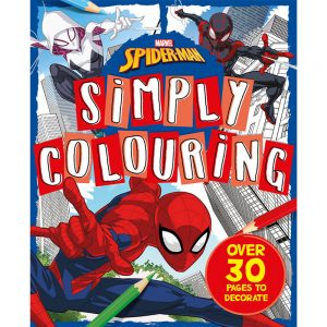 Marvel Spider-Man: Simply Colouring