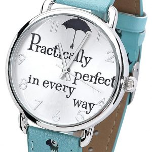 Mary Poppins Practically Perfect In Every Way Wristwatches Blue