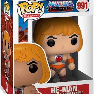 Masters Of The Universe He-Man Vinyl Figure 991 Funko Pop! Multicolor