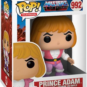 Masters Of The Universe Prince Adam Vinyl Figure 992 Funko Pop! Multicolor