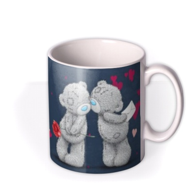 Me To You Tattty Teddy Photo Upload Valentine's Day Mug by Moonpig, Gift Set - Delivery Available