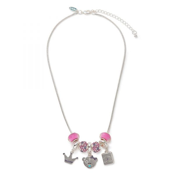 Me To You Tatty Teddy Princess Beaded Pendant Necklace