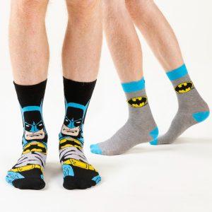 Men's 2pk DC Comics Batman Socks