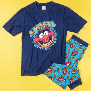 Men's Navy The Muppets Animal Pyjamas