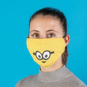Minions Bob Disney Face Mask From Difuzed