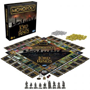 Monopoly Board Game – Lord Of The Rings Edition