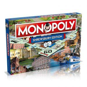 Monopoly Board Game – Shrewsbury Edition