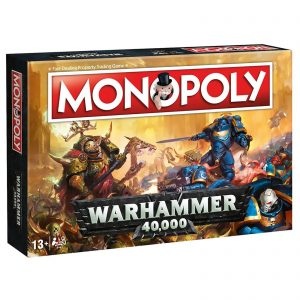 Monopoly Board Game – Warhammer Edition