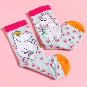 Moomin Snorkmaiden Flowers Socks