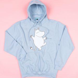 Moomins Dance Blue Hoodie