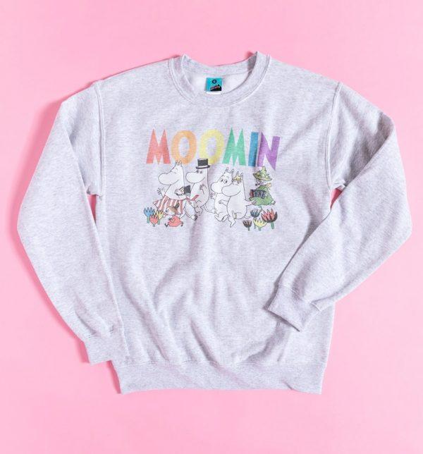 Moomins Rainbow Logo Sweater