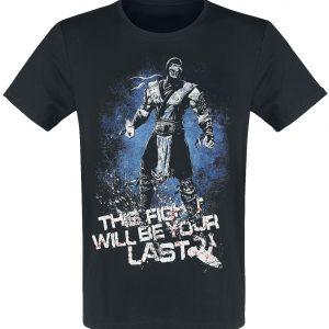 Mortal Kombat 11 – SUB-ZERO T-Shirt Black