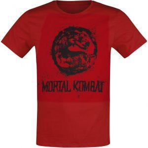 Mortal Kombat Choose Your Fighter T-Shirt Red
