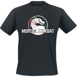 Mortal Kombat Finish Him T-Shirt Black