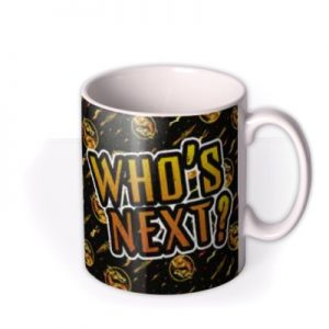 Mortal Kombat Movie Who's Next Mug By Moonpig, Gift Set – Delivery Available
