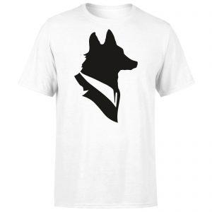 Mr Fox Men's T-Shirt – White – XS – White