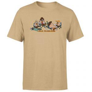Mr. Potato Head Dad Problems Men's T-Shirt – Tan – XS