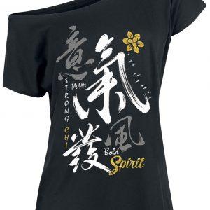 Mulan Bold Spirit T-Shirt Black