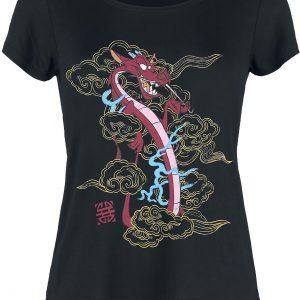 Mulan Mushu T-Shirt Black
