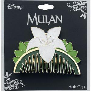 Mulan Replica Comb Hairslide Green White