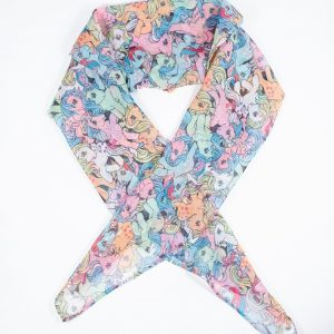 My Little Pony All-Over Print Hair Scarf From Unique Vintage