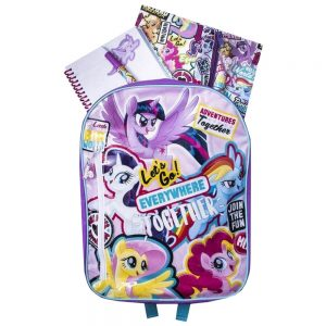 My Little Pony Backpack And Stationary Set