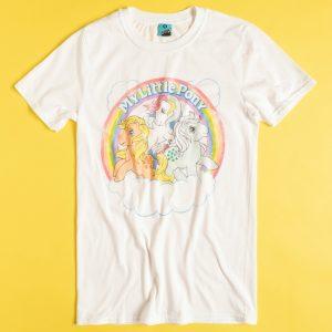 My Little Pony Cloud Scene White T-Shirt
