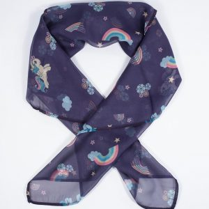 My Little Pony Purple Hair Scarf From Unique Vintage