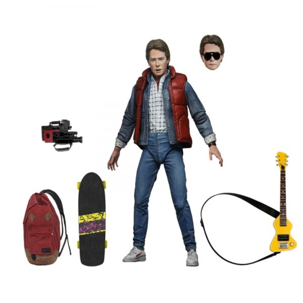 """NECA Back to the Future 7"""" Scale Action Figure - Ultimate Marty McFly"""