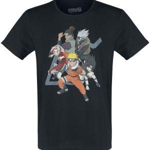 Naruto Group T-Shirt Black