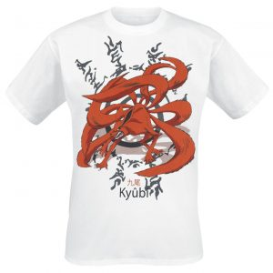 Naruto Kyubi T-Shirt White