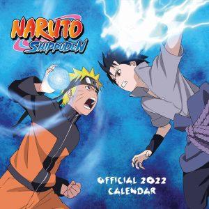Naruto Official Calendar 2022