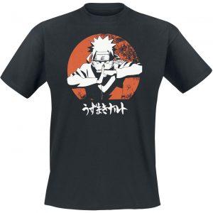 Naruto Shippuden Ready For Battle! T-Shirt Black