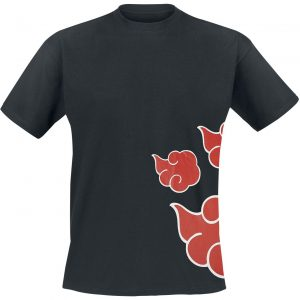 Naruto Wind T-Shirt Black
