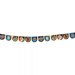 Nerf Target Pennant Banner
