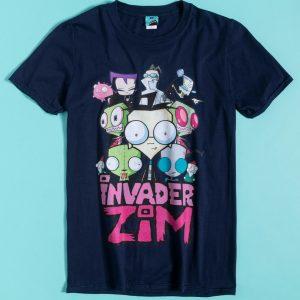 Nickelodeon Invader Zim Navy T-Shirt