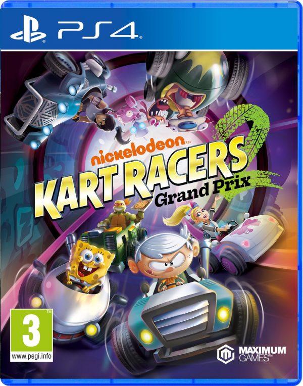 Nickelodeon Kart Racers 2 Grand Prix PS4 Game