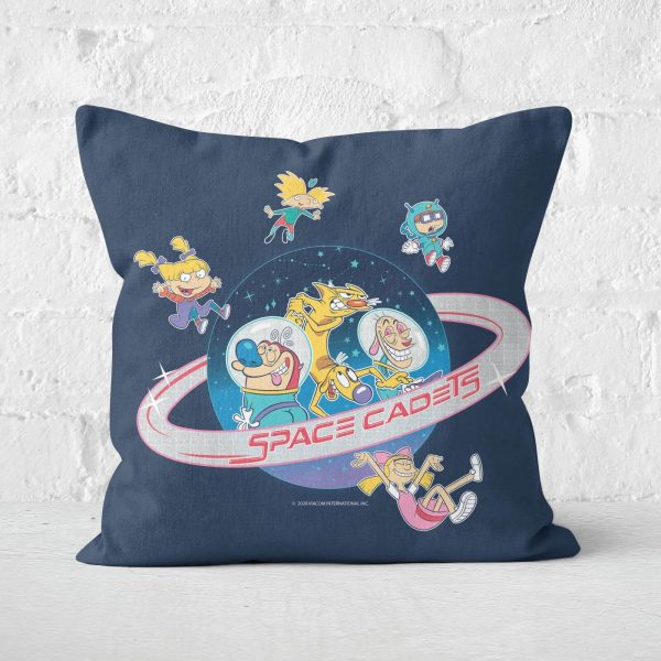 Nickelodeon Space Cadets Square Cushion - 50x50cm - Soft Touch