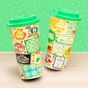 Nintendo Animal Crossing Plastic Travel Mug