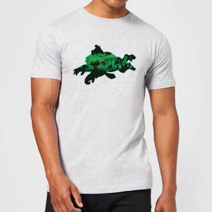Nintendo Donkey Kong Silhouette Men's Light Grey T-Shirt – S – Light Grey