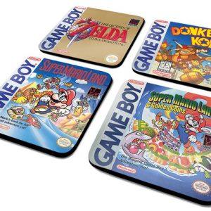 Nintendo Game Boy – Classic Collection Coaster Multicolor