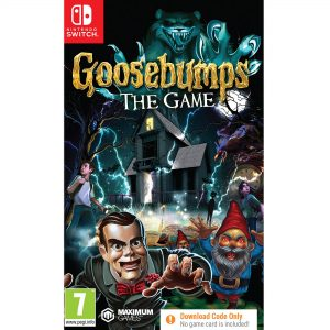 Nintendo Switch: Goosebumps The Game Code In A Box