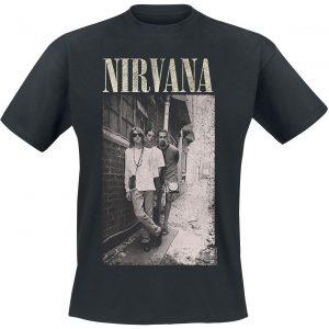 Nirvana Alleyway T-Shirt Black