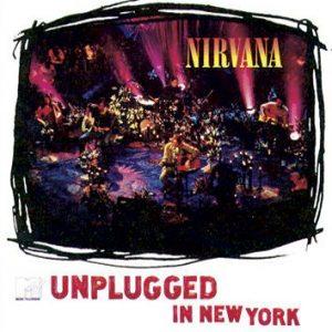 Nirvana MTV Unplugged In New York LP Black