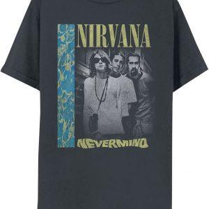 Nirvana Nevermind Deep End T-Shirt Black