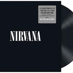 Nirvana Nirvana LP Black