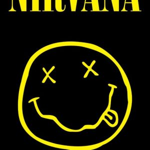 Nirvana Smiley Poster Multicolour