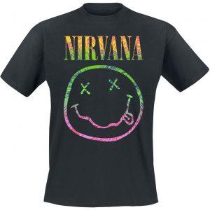 Nirvana Sorbet Ray T-Shirt Black