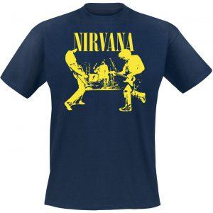 Nirvana Stage T-Shirt Dark Blue